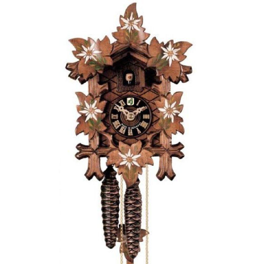 Artikel Nr-R00Y15F__Z99HO-102ED-4__original-schwarzwaelder-kuckucksuhr-1-tag-mechanik,-edelweiss,-6-laub,-24cm-1-tag-mechanik-edelweiss-6-laub-Nr-R00Y15F-