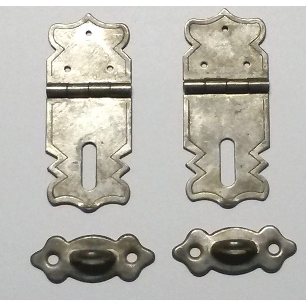 Artikel Nr-R00Y35F__A13RE-SCHANIER-BE-4__mini-eisen-beschlag-scharnier-verschluss-moebelbeschlag-set-4-tlg.-4-tlg-Nr-R00Y35F-