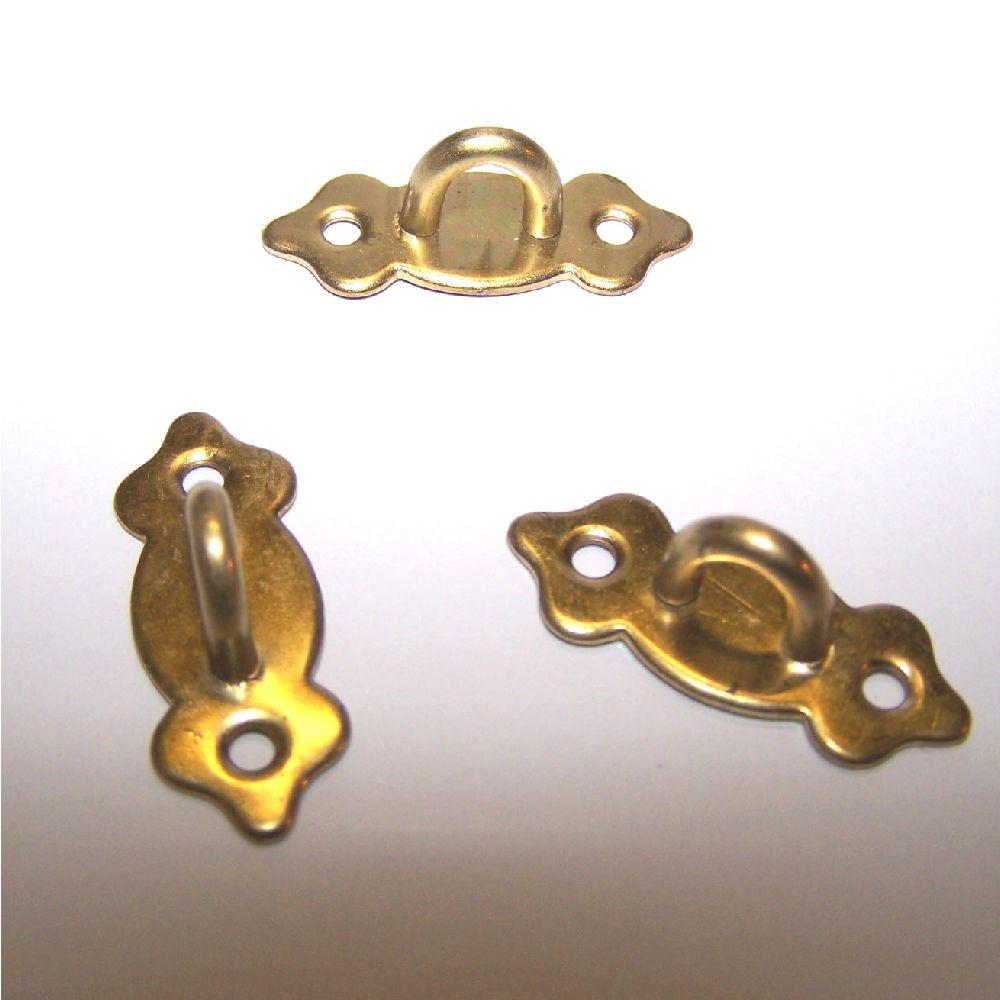 Artikel Nr-R00Y39F__A17RE-VE-VS-4__mini-metall-beschlaege-verschluss-verschlussbuegel-verschlussoese-messingfarben-Nr-R00Y39F-